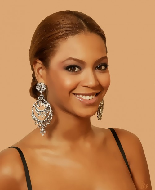 11_Digital Painting of Beyonce
