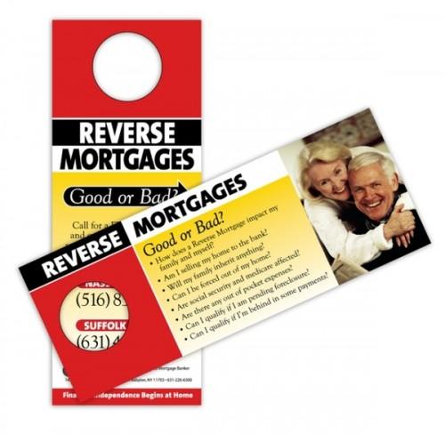 11_Door Hanger - Reverse Mortgage Advertisement