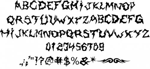 14_Shaman Font