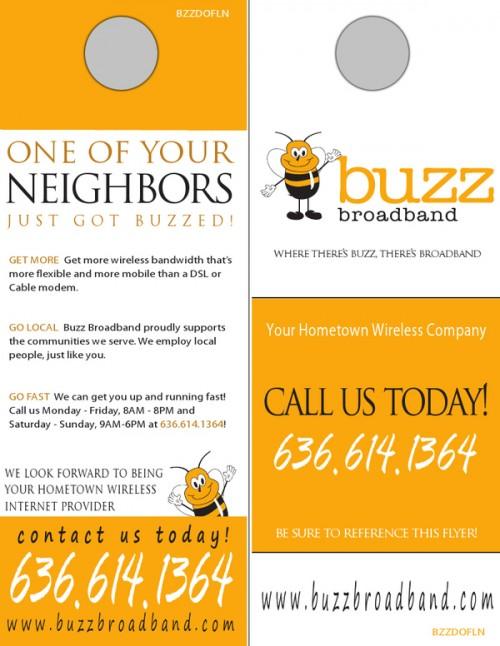 16_Buzz Broadband Door Hangers
