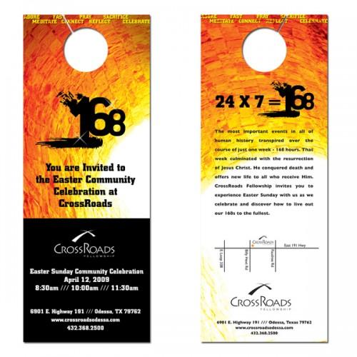 19_168 Series Door Hangers