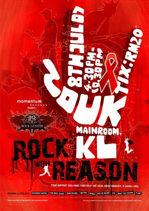 Rock Genesis Poster Design