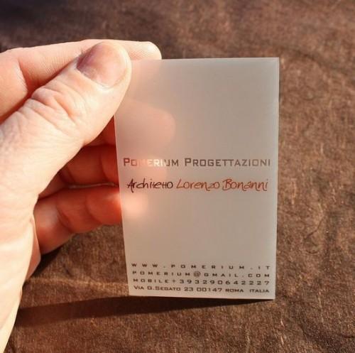 21_Transparente Visitenkarten Aus Kunststoff