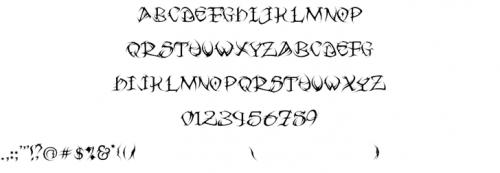 5_Tribal Font
