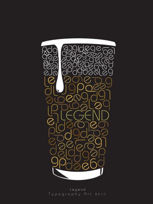 13_Legend Cup Typography Art 3