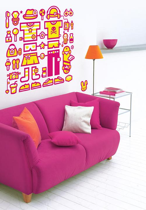20_Wall Sticker for Fugu