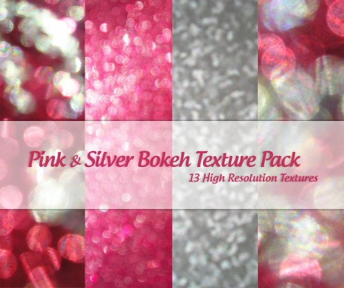 22_Pink and Silver Bokeh Pack