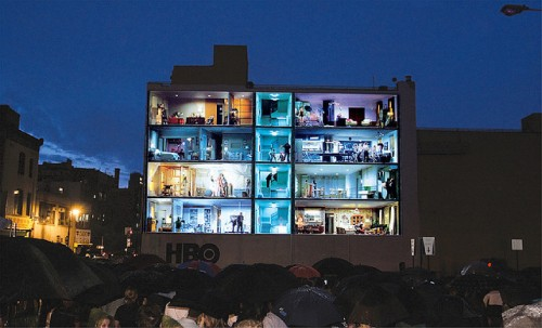 24_HBO Building Advertisement