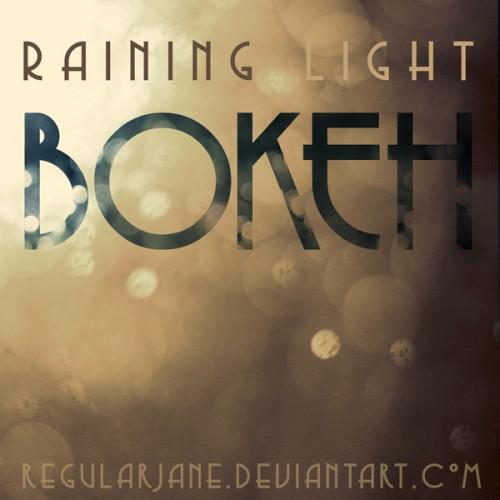 2_Raining Light Bokeh Pack