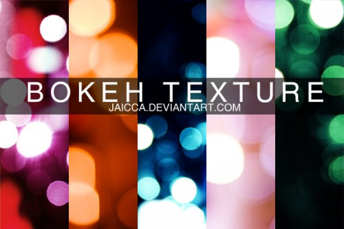 6_High Resolution Bokeh Texture