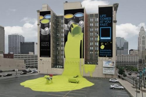 6_Nationwide Insurance Spilt Paint