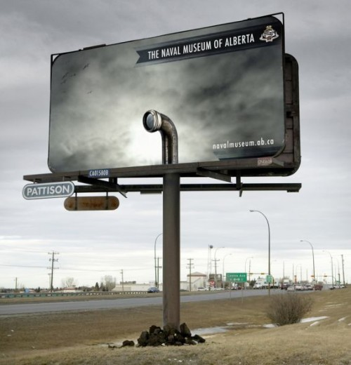 7_The Naval Museum of Alberta Billboard