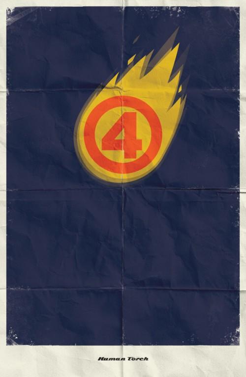 10_Marvel Minimalist Posters
