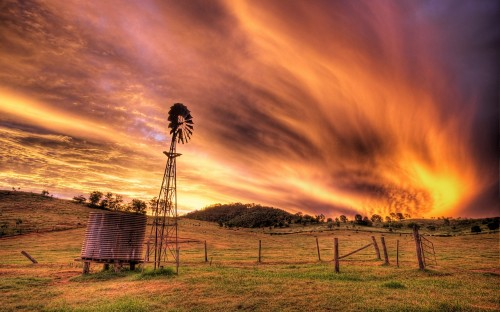 11_Wooden Windmill