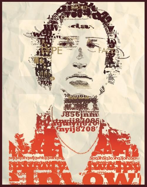 12_Typography Portrait