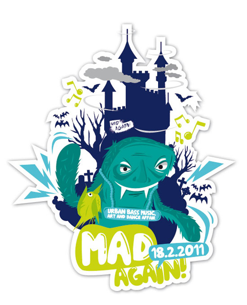 14_Sticker - Mad Again! - 2011