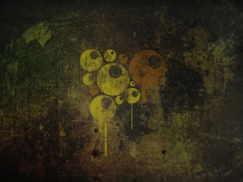 18_Grunge Balls Wallpaper
