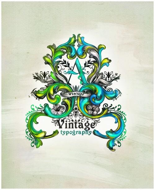 2_Vintage Typography