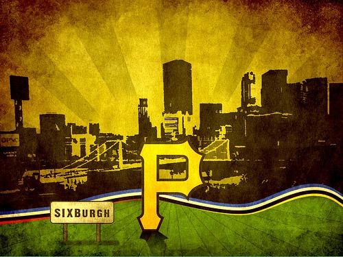 5_Pittsburgh Pirates Grunge Wallpaper