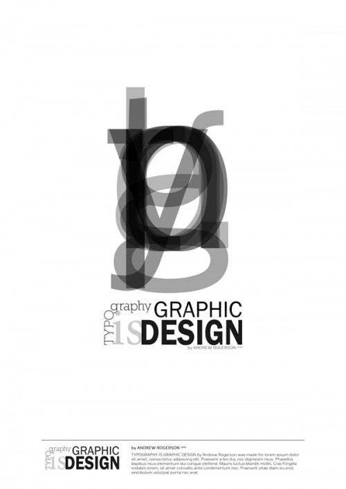 5_Typography is Graphic Design