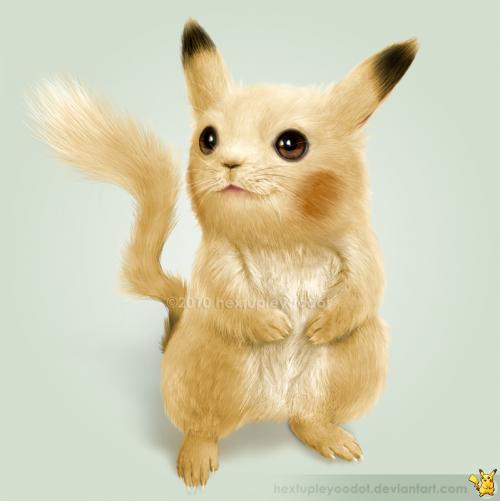 7_Real Pikachu