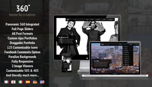10_360 - Panoramic WordPress Theme