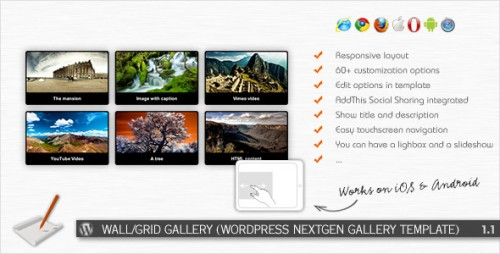 11_Wall, Grid Gallery - WP NextGEN Gallery Template