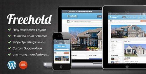 12_Freehold - Responsive Real Estate Theme