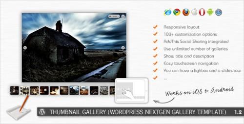 14_Thumbnail Gallery - WP NextGEN Gallery Template