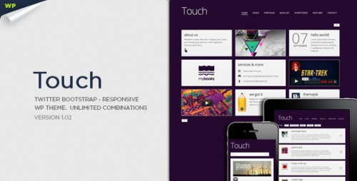 16_Touch Responsive & Bootstrap WordPress Theme