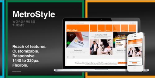 17_MetroStyle Responsive All Purpose Wordpress Theme