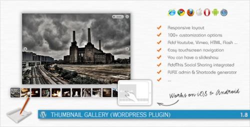 17_Thumbnail Gallery - WordPress Plugin