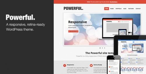 18_Powerful - Responsive, Retina-ready Theme