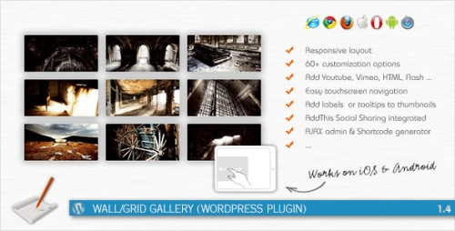 18_Wall, Grid Gallery - WordPress Plugin