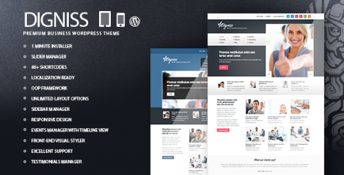 1_Digniss - WordPress Responsive Business Theme