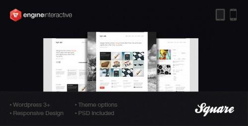 21_Square - Responsive Wordpress Theme