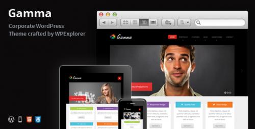 24_Gamma - Responsive Multi-Purpose WordPress Theme