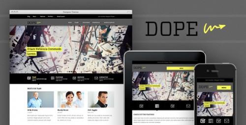 27_Dope - A Responsive WordPress Portfolio Theme