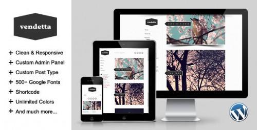 28_Vendetta - Responsive Portfolio Wordpress Theme