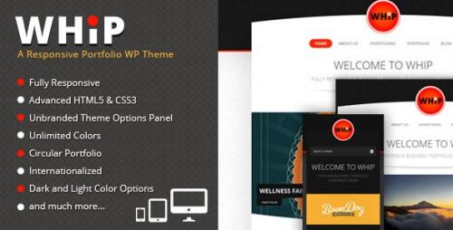 29_Whip - Responsive Portfolio WP Theme