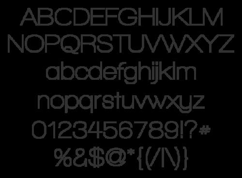 2_Walkway Typeface