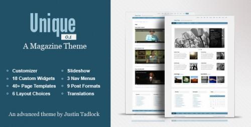 31_Unique - Customizable WordPress Magazine Theme