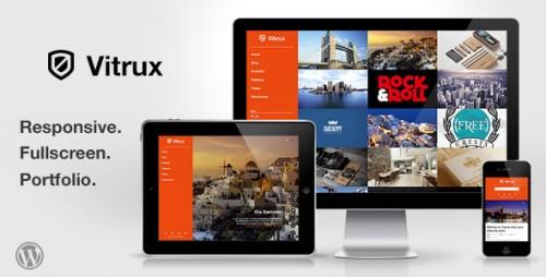 34_Vitrux - Responsive Fullscreen Portfolio WP Theme