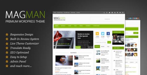 36_MagMan - Responsive News Blog WP theme