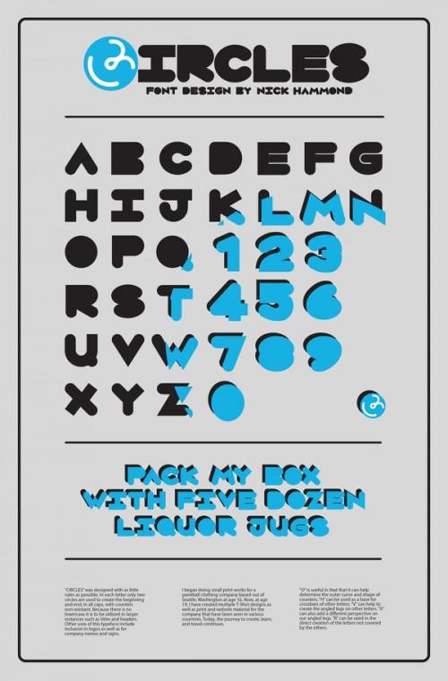 39_Circles - A Truetype Font