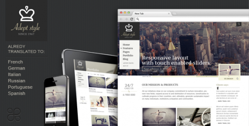 41_Adept Style Responsive for Business Portfolio