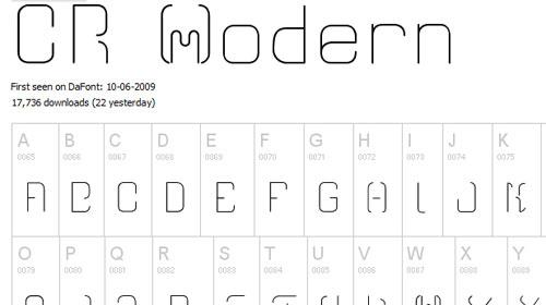 41_CR21 Modern
