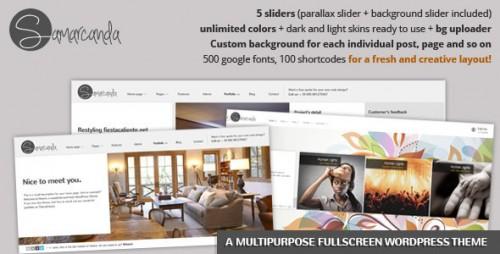 43_Samarcanda - Multipurpose Fullscreen Theme