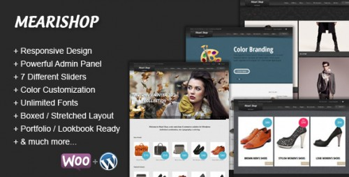 49_Mearishop - A Clean Responsive E-commerce Theme