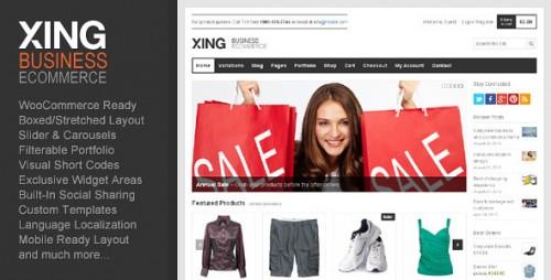 50_Xing - Business, Ecommerce WordPress Theme